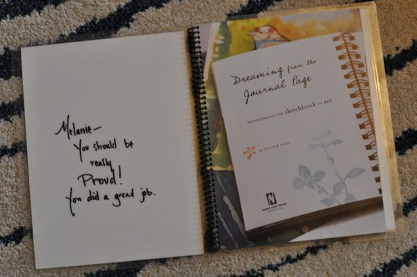 My very own signed copy of Dreaming from the Journal Page
