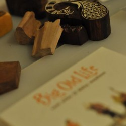 Wood Block Stamps and Music